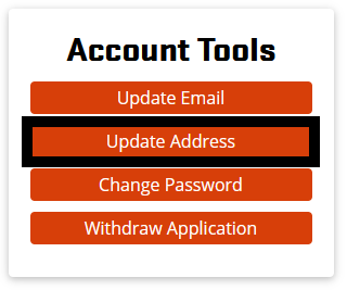 Update Address in Account Tools