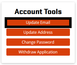 Update Email in Account Tools