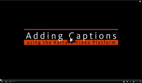 Adding Captions