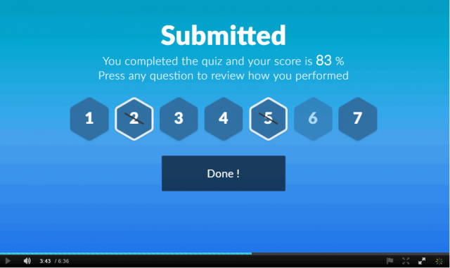 IVQ - Submitted score