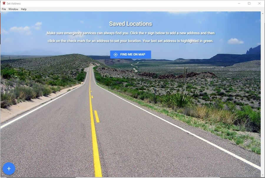 Enter locations