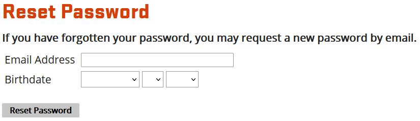 Beaver Basecamp Reset Password