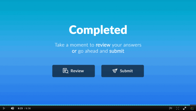 IVQ - To review your answers